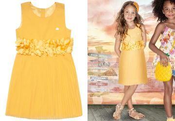 Vestido Amarelo Lilica Ripilica